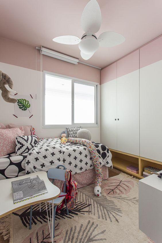 Pared Bicolor Habitaciones Juveniles Colores Para Dormitorios Juveniles Pintar Habitacion
