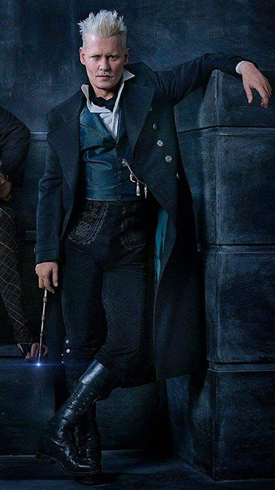 Johnny Depp In Fantastic Beasts The Crimes Of Grindelwald 2018