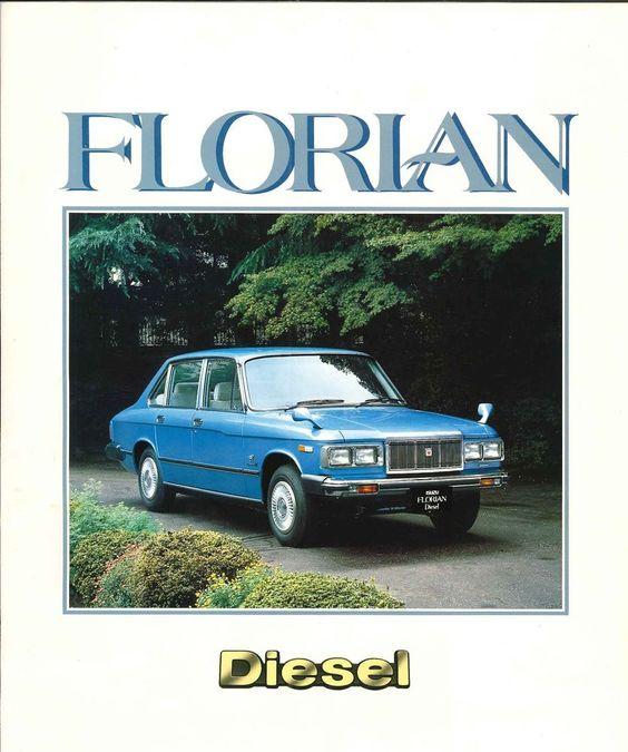 ISUZU FLORIAN Diesel, Japanese Brochure Sales Classic Car Catalog Vintage jd87