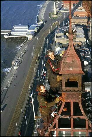 Painting Blackpool Tower