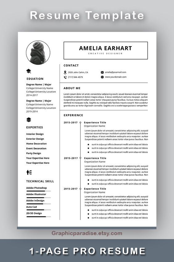 Resume Template Instant Download Professional Resume Template Resume Template Word Modern Resume Template Resume Writing Cv Template Resume Template Word Resume Template Resume Template Professional