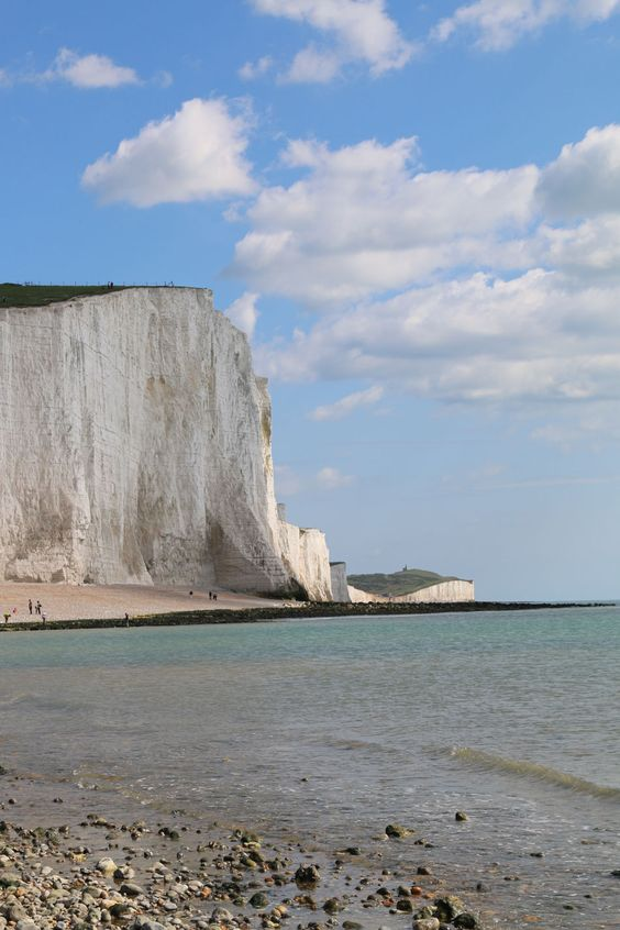 The English Seaside – Brighton   Seven Sisters