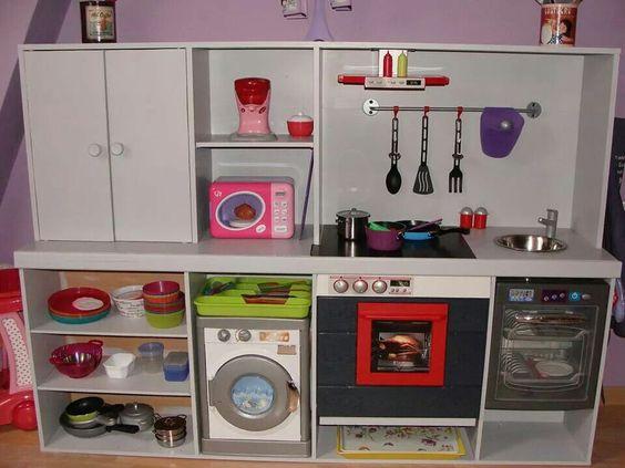 Fabriquer une cuisine en bois pour enfant for Cuisine en bois pour enfant ikea