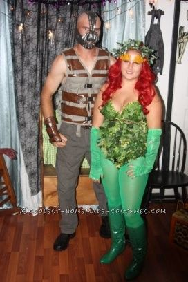 coolest bane and poison ivy couple costume this website is the pinterest of - Halloween Costumes Bane