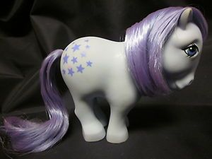 MY LITTLE PONY VINTAGE G1 BLUEBELL ORIGINAL COLLECTOR FLATFOOT  '82 EARTH  EUC B
