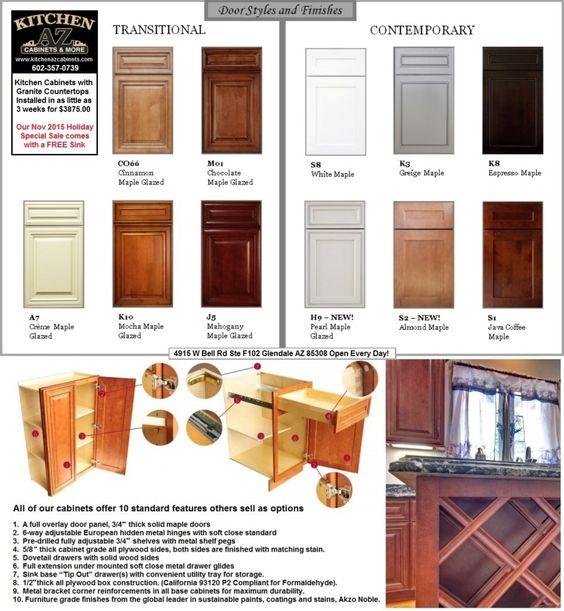 discount kitchen cabinets glendale az phoenix wood custom kitchen ...