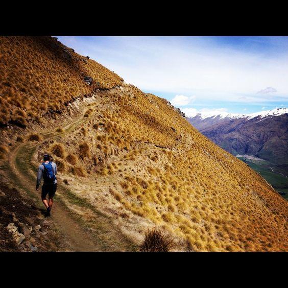 Roys Peak, Glendhu Bay, New Zealand