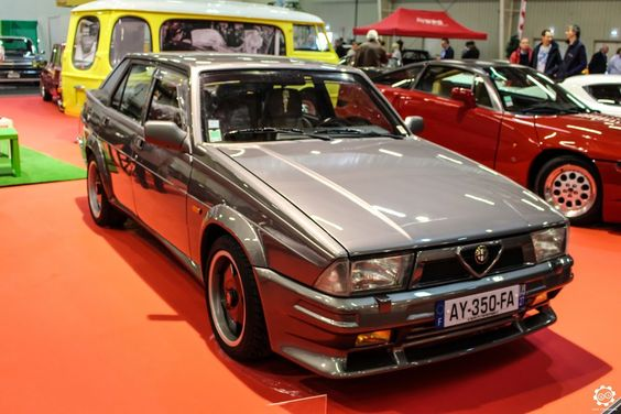 #Alfa_Romeo #75 #Turbo au salon Auto Moto Retro de Rouen. Reportage complet…
