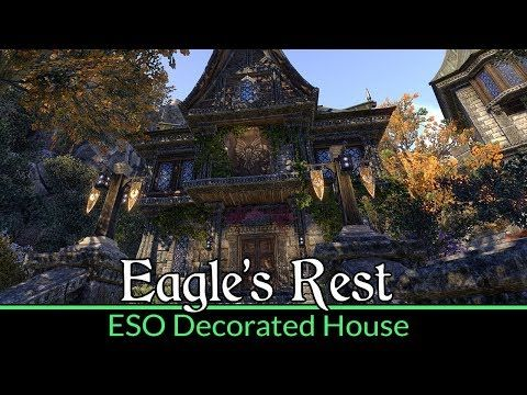 Fully Decorated Domus Phrasticus Eagles Rest Eso House Tour