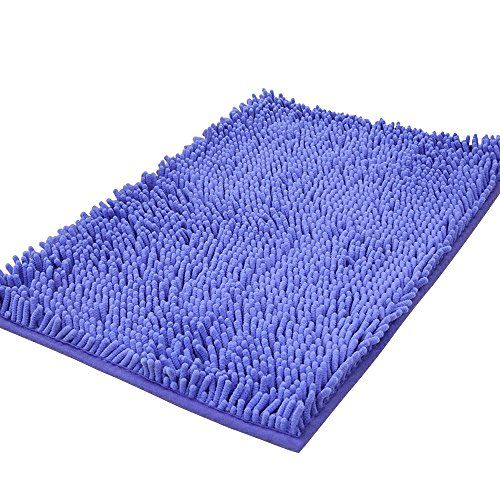 Microfiber Chenille Fluffy Bathroom Bedroom Floor Rug Carpet Mat Non Slip Bath Mat 40x60cm Rugs On Carpet Floor Rugs Bedroom Floor Rugs