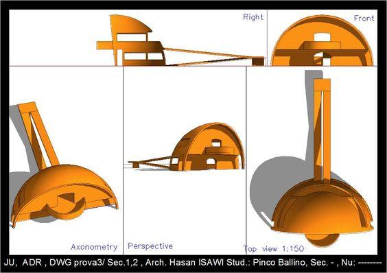 Hasan Isawi  to  الرسم والاظهار المعماري (Arch. Drawing & Representation/ prova3: