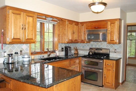 Countertop Paint For Wood : ... grey countertops kitchen backsplash painting wood trim wood paint