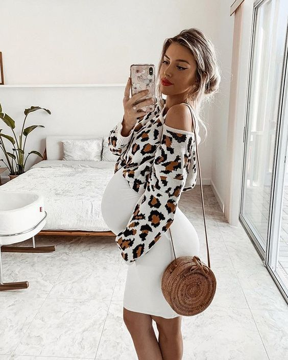 Pin On Pregnancy Outfits For Casual Simple Stylish Look
