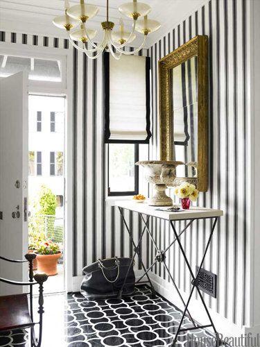 black & white so patterned