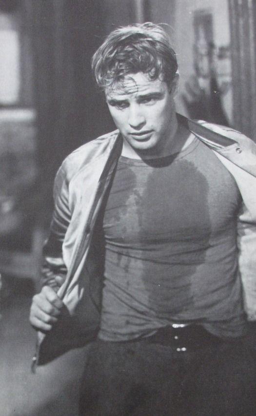 "Marlon Brando as Stanley Kowalski in""A Streetcar Named Desire"""