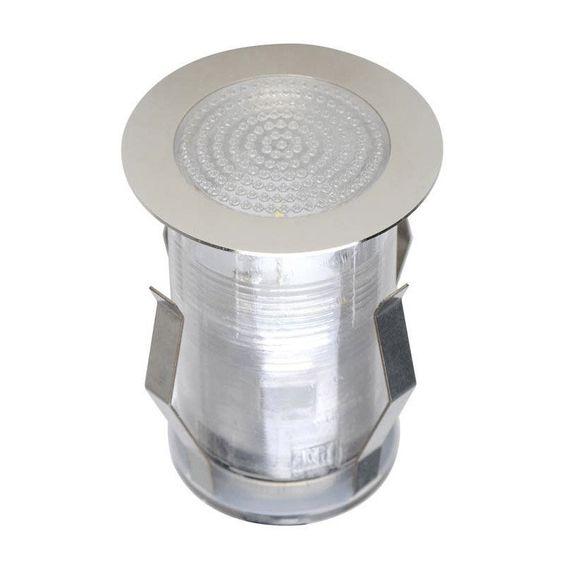 Spot A Encastrer Exterieur Diam 5 Cm Acier Inoxydable Acier Inoxydable Inoxydable Et Acier