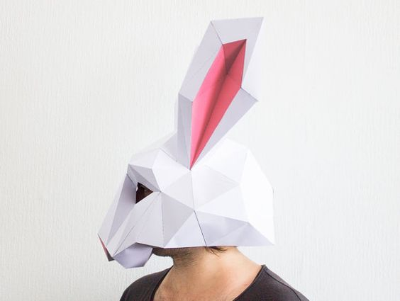 how to make a paper face mask