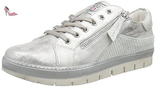 40cr201-686550, Sneakers Basses Femme, Argent (Silber 550), 40 EUDockers by Gerli