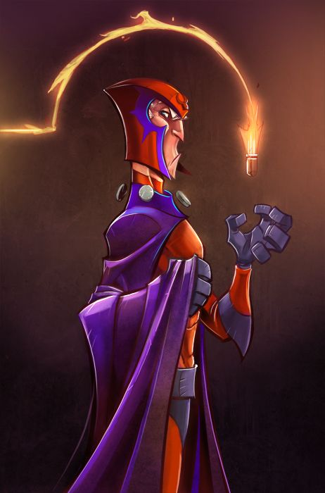 Magneto Colors  by *frogbillgo