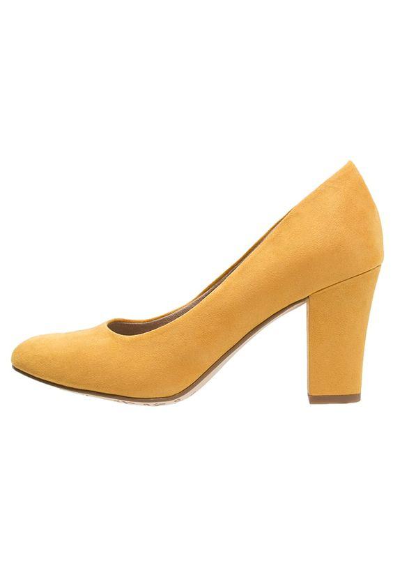 Escarpins Tamaris Escarpins - saffron jaune foncé: 50,00 € chez Zalando (au 19/05/16). Livraison et retours gratuits et service client gratuit au 0800 740 357.