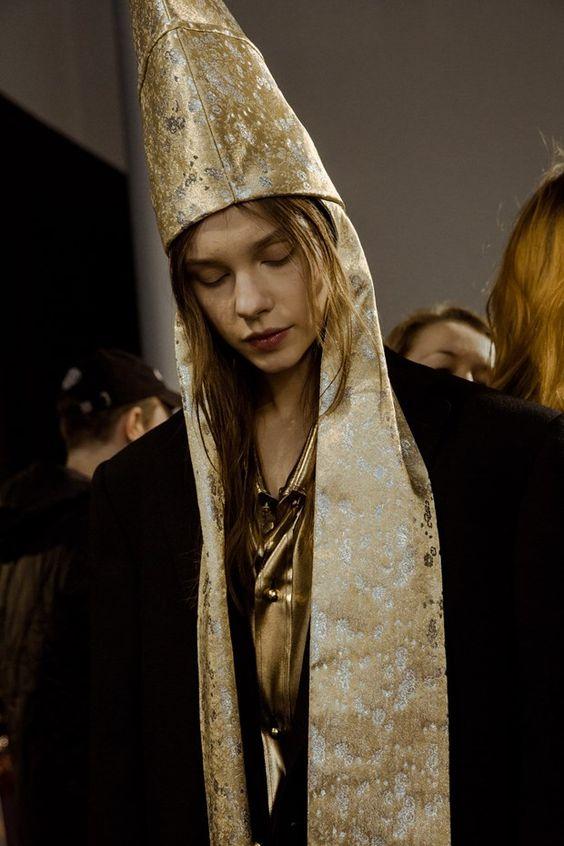 northmagneticpole:  Vivienne Westwood AW16-17 Backstage