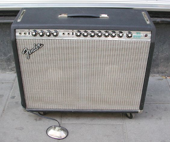Another 1971 Fender Twin Reverb. So that I can run Stereo through both of them.