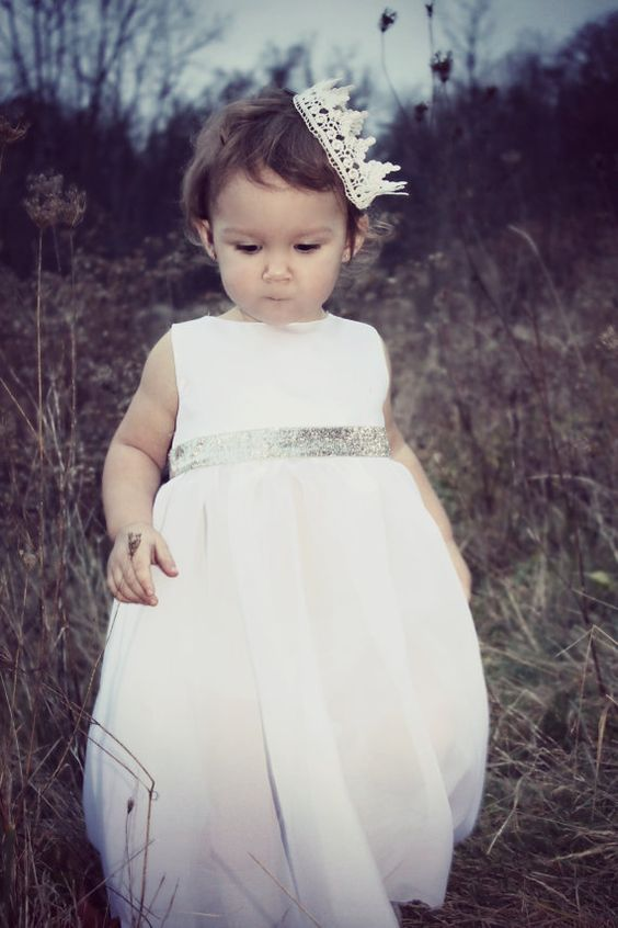 Stunning White Toddler Dress Christmas by izzybeeboutique on Etsy, $130.00