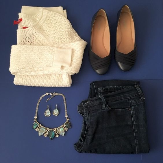 66% off - White IZOD Sweater NWT IZOD white sweater. Super cute with jeans and flats with some glam jewelry!  Offers welcome! IZOD Sweaters