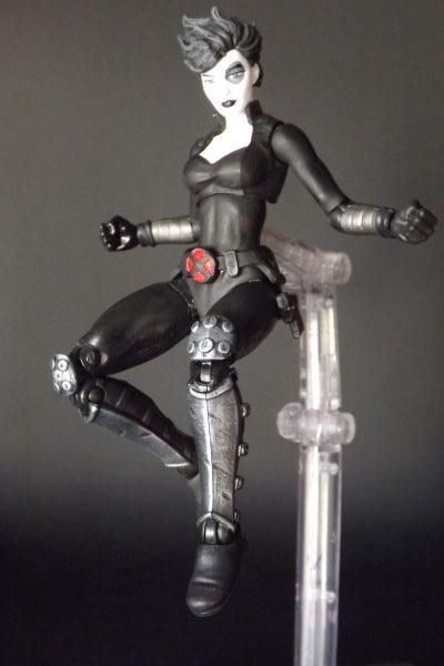xforce domino vers iv marvel legends custom action