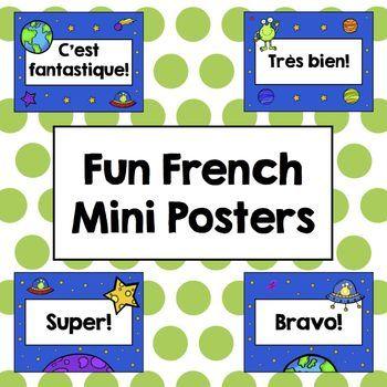 $ Fun French Mini Posters