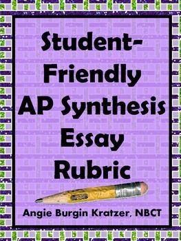 Ap english language synthesis essay rubric
