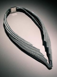 Inspiring zipper jewelry by Kate Cusack