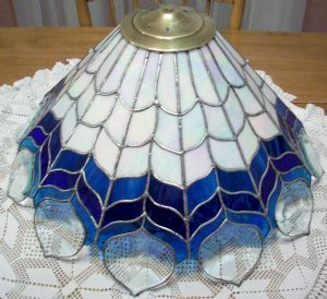 Eagle feather stained glass lampshade by mark olszewski and nathan eagle feather stained glass lampshade by mark olszewski and nathan ainsworth stained glass pinterest eagle feathers feathers and glass aloadofball Images