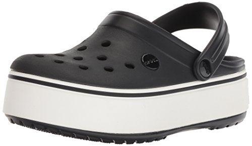 Crocs Crocband Platform Clog, Black