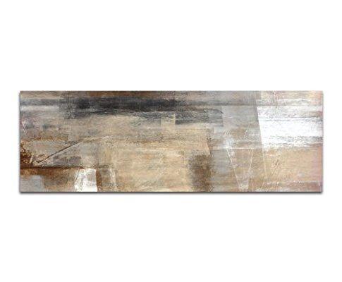 Abstraktes Wandbild Beige Rotlich Altrosa 150x50cm Panorama Wandbild Auf Leinwand Und Keilrahmen Fertig Zum Aufha Wandbilder Auf Leinwand Keilrahmen Kunstwerke