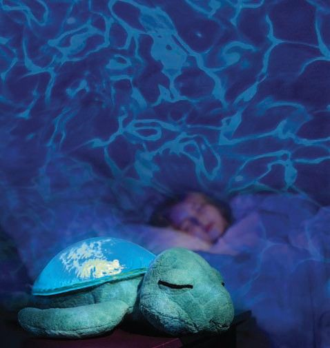 tranquil turtle from cloud b. projects a soothing underwater light, Reel Combo