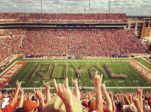 The University Of Texas Can T Wait For Football To Start Hook Em