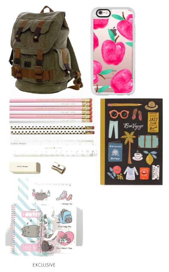 """""""School Time Kids"""" by aaliyahsenpai04goesfashion ❤ liked on Polyvore featuring interior, interiors, interior design, home, home decor, interior decorating, Kate Spade, Pusheen, Casetify and Dot & Bo"""