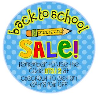 The Lower Elementary Cottage: Back to School Sale and Linky Party!