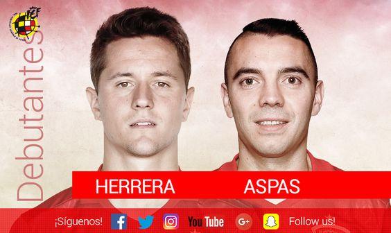 Partido nº 668 Iago Aspas y Ander Herrera se estrenan como internacionales españoles: