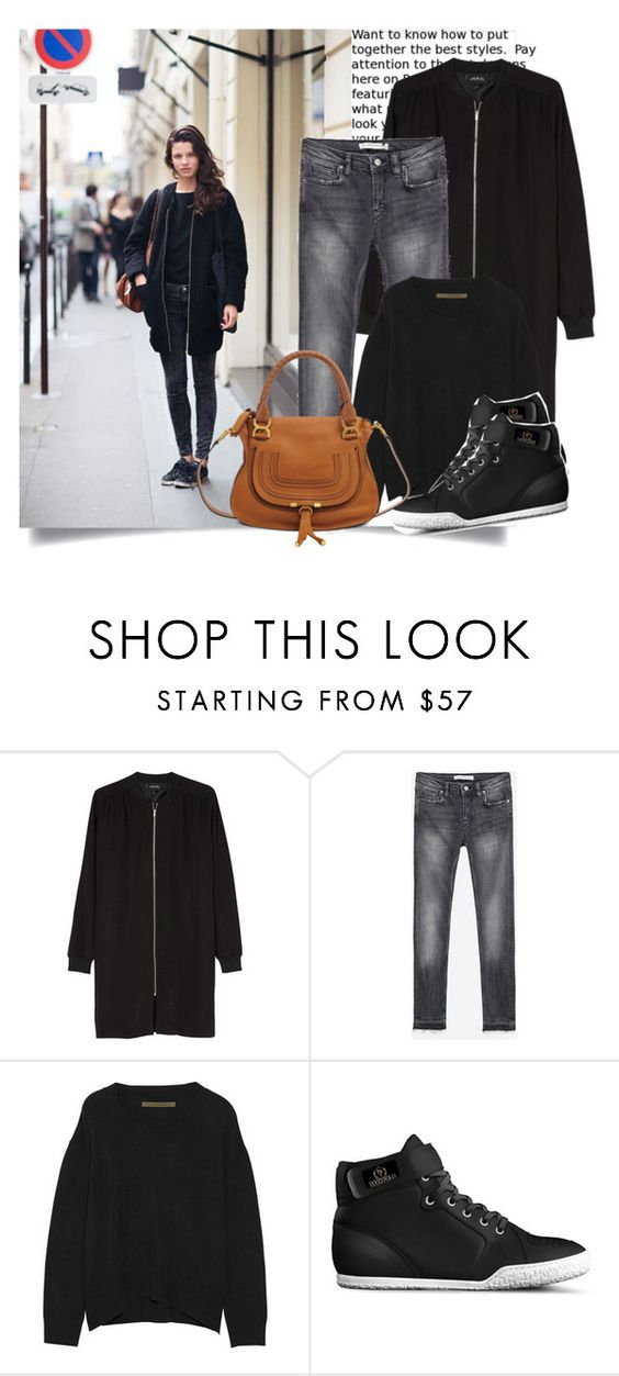 """""""Stockholm Street Style..."""" by hattie4palmerstone ❤ liked on Polyvore featuring Monki, Zara, Enza Costa, Chloé, zara, chloe, enzacosta and tuccipolo"""