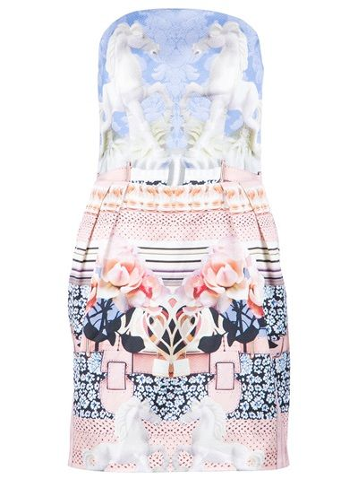 MARY KATRANTZOU 'Powdy' Bustier Dress