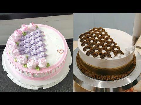 وصفات كيك مزين بالكريمة طرق تزيين الكاتو بالبيت لإسعاد اسرتك Youtube Cake Decorating Tutorials Cake Perfect Cake