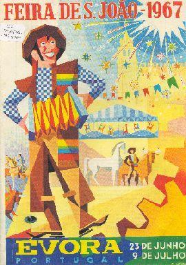A história da Feira de São João em Évora, Portugal, e os programas mais recentes.