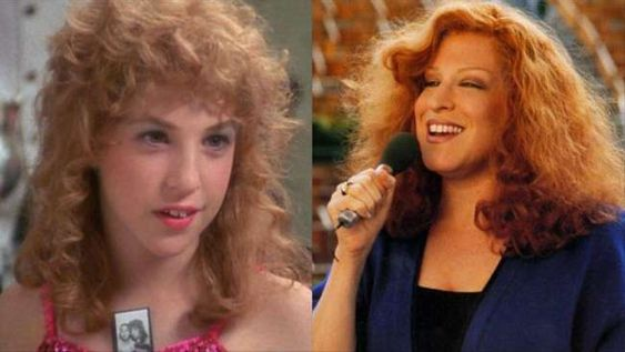 Bette Midler and Mayim Bialik in Beaches