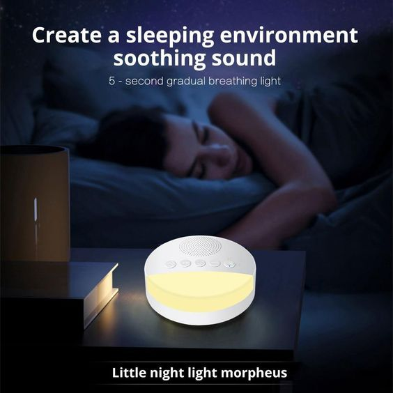 Add a soothing sound to sleeping environment for a good nights sleep