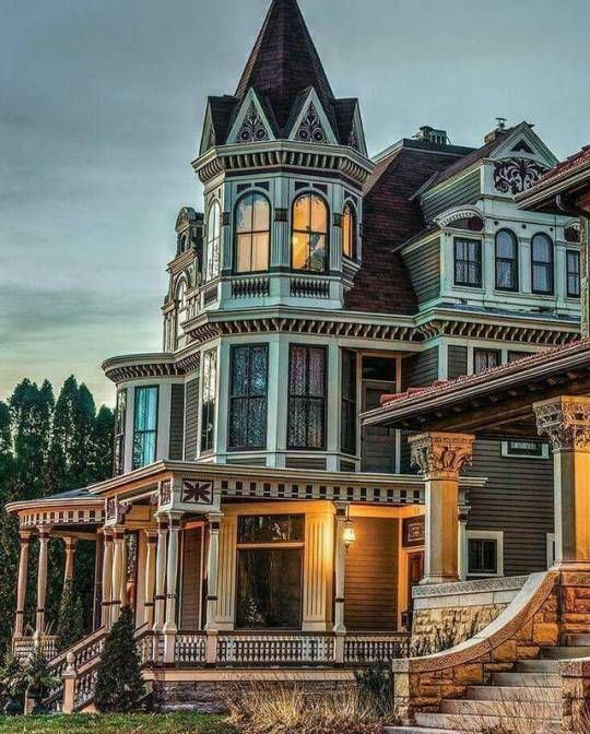 Victorian Houses Victorian Homes Dream House Exterior Victorian Architecture