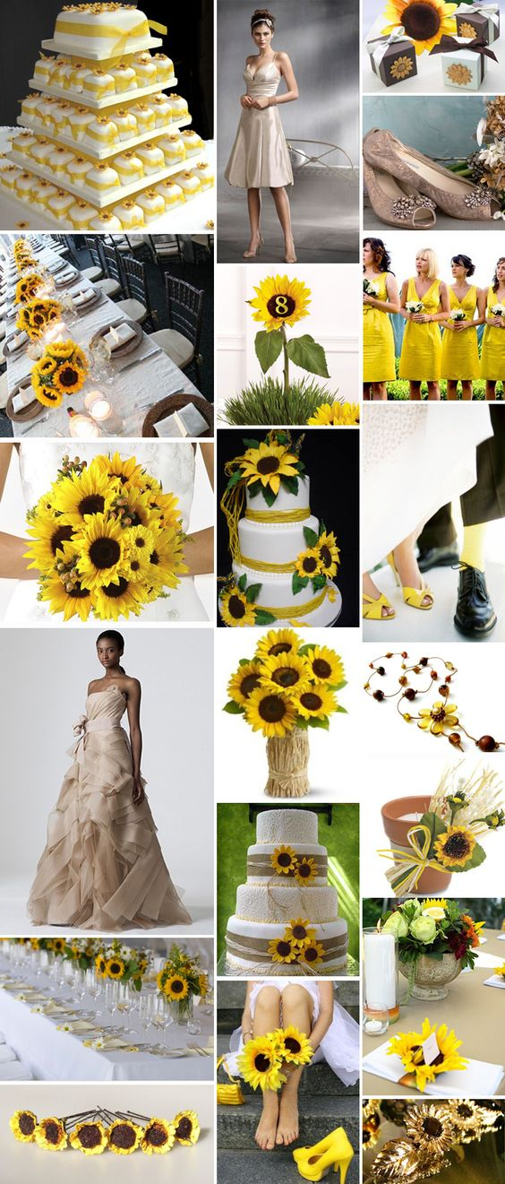 Sunflower Theme My Fairytale Wedding Outdoor Sunflowers Cowgirl Boots With