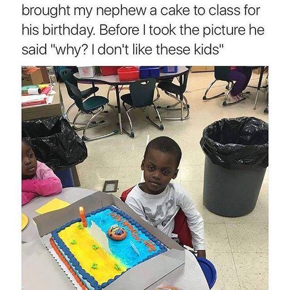 Bad ass kid