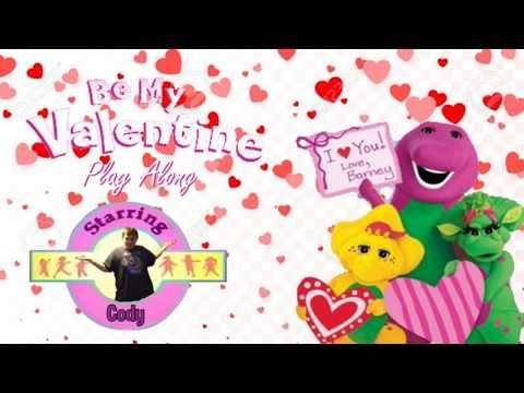Be My Valentine Love Barney Play Along Trailer Youtube Be My Valentine Barney Valentine
